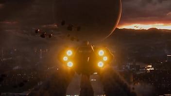 Destiny 2 Aparelho cabal penetrando no Viajante