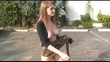 Faye Reagan public flashing