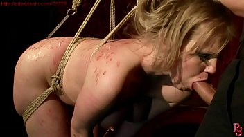 Super hot and super sexy girl bound and trained. BDSM bondage sex movie.