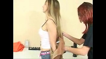 Strip search labia pulled apart - Caged47full