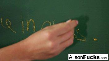 Naughty Masturbating School girl Alison Tyler