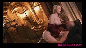 Amazing blonde Stacie Jaxxx sensual sex