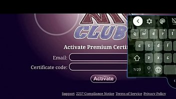 How to activate Premium certificate in MnF club Sex game.
