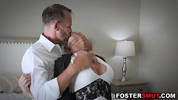 Angry foster parents threesome fuck daughter