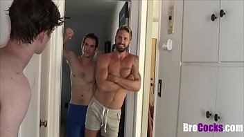Bullying Teen Brother And Fucking Him