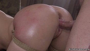 Saved from jail blonde bdsm fucked