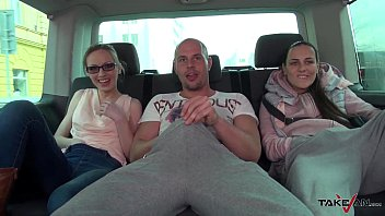 Sultry Secretary Picked up and Fucked Hard in Van with Mea Melone Preview
