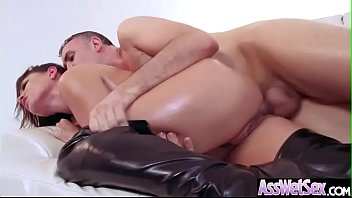 Eva angelina anal galleries - Deep hard anal sex with lovely big round butt girl eva angelina video-14
