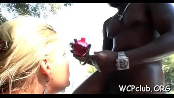 Fascinating interracial anus pounding will turn you on