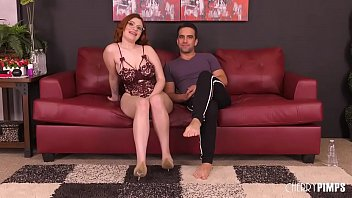Voluptuous Redhead Teen With Big Tits Gets Pounded Hard in a Live Sex Show thumbnail