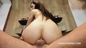 Melissa black cum Melissa rel welcome to porn with balls deep anal, manhandle, gapes and cum in the mouth gl138