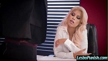 Horny Sexy Lesbians (Kristina Rose & Bridgette B) In Hard Punish Sex Tape video-23