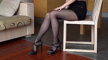 Sexy Nylon Posing