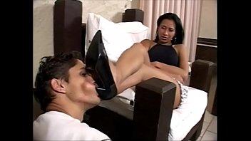 foot licking dog 1  (no sound)  Alessandra Marques
