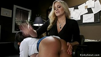 Milf boss anal fucking lesbian employees