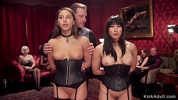 Bdsm orgies tube - Submissive slaves at orgy bdsm party
