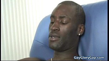 Huge Black Gay Cock for Tiny White Boy 22