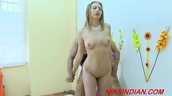 Blonde babe fucked by Indian sadhu