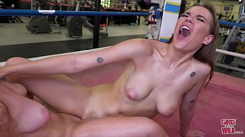 GIRLS GONE WILD - Macy Scissors Sailor In The Boxing Ring