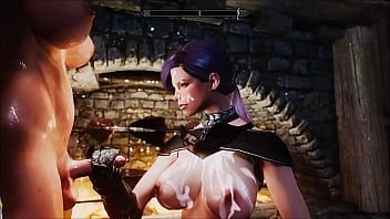 skyrim futa sex and blow job at a Dragonsreach