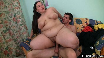 He picks up and bangs her fat pussy