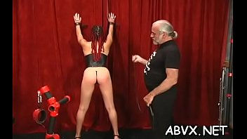 Young non-professional chicks amazing slavery scenes on cam