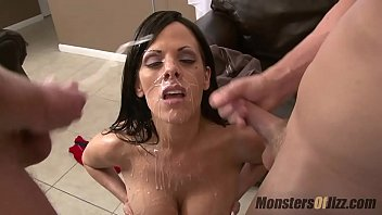 Streaming Video 5 Big Tit Milfs Suck Dick and Get Huge Facials - XLXX.video