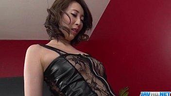 Aya Kisaki Wife In Lingerie Blows A Big Dick In Pov