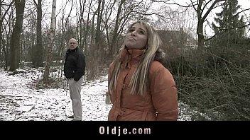 Old man fucking exquisite blonde teen video