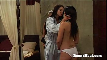 Lesbian Slaves And Mistress In The Same Bed
