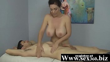 MILF CHARLEE CHASE IS A HAPPY ENDING MASSEUSE!