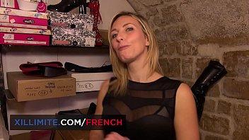Foot masturbation h beautiful French blond Emma Kl