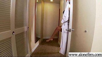 Freak Alone Girl On Camera Pleasing Herself video-15