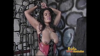 Dominate female escorts Two delicious sluts get whipped by their smoking hot dominatrix