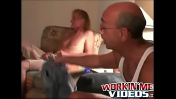 Gay hairy grandpas Mature homo raw fucks his old friend and cums on his face