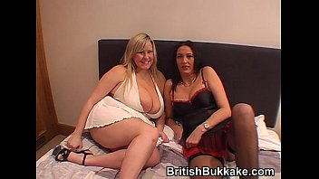 Woman with facial Amateur bukkake party with mature woman