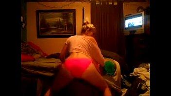 blonde teen ass shaking pink panties