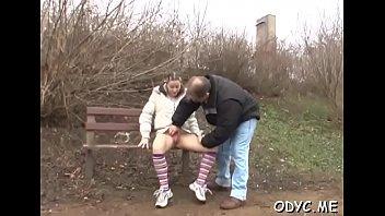 Grandpa and girl sex movie - Smoking hot curvy teen gives grandpa a hot oral sex and rides