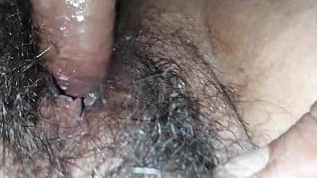 Penetrando panocha peluda de mi tia
