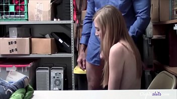 Teen forced by old man as punishment for stealing- Ava Parker