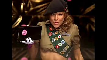 Fergie porn video Fergalicious for her girl scout cookies