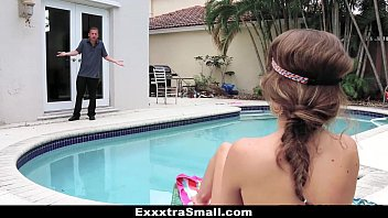 ExxxtraSmall - Petite Teen Caught and Fucked by Her Neighbor