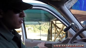 Boarder patrol sex Brunette gets pulled over for a cavity search and