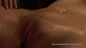 Sensual Lesbian Madame Enjoys In Naked Massage With Her Submissive Slave