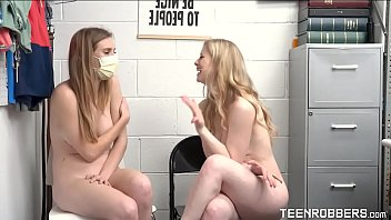 Mom and Daughter Caught by a Guard - Ashley Lane - Teenrobbers.com