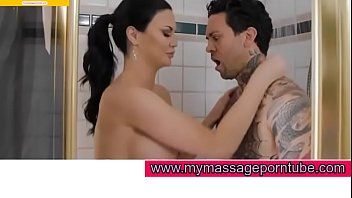 Big boob german gives hot tit job at time of oil massage for mymassageporntube.com