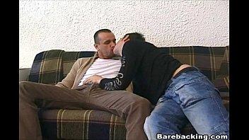 Gay balls deep - Intense gay hunk on hardcore barebacking