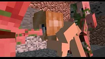 Minecraft porno zombie pig group