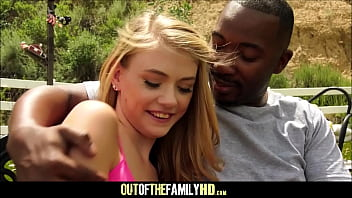 Black women interracial relationships - Cute and tiny blonde teen step daughter hannah hays fucked by her black step dad