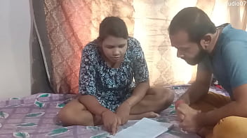 Indian Home Tutor Fucking Sexy Teen Student At Home  Enjoy With Clear Audio